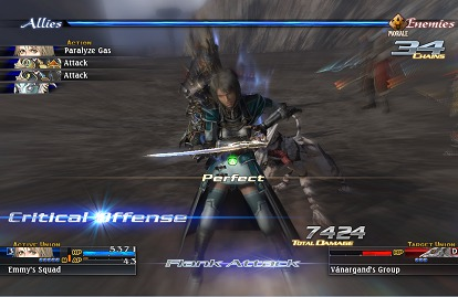 The Last Remnant battle screenshot
