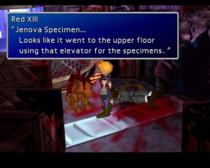 Final Fantasy VII Screenshot 1 Jenova Specimen