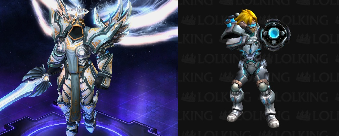 In-game shop screenshot vs. Lolking.net League of Legends model viewer