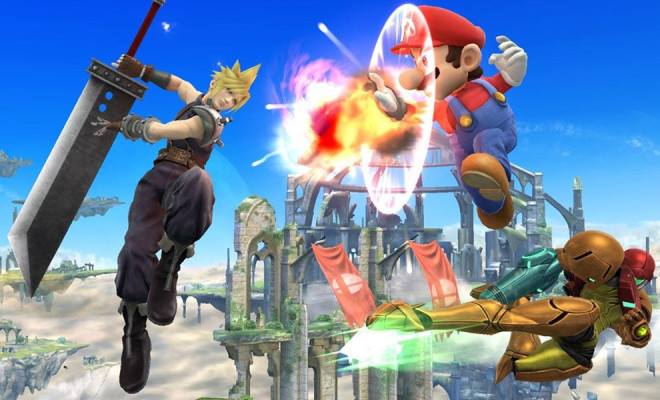 cloud joins super smash bros